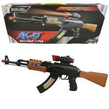 Kids fucile da cecchino AK47 PISTOLA GIOCATTOLO LUCI SUONI VIBRAZIONI GIOCO Ragazzi Esercito Soldato