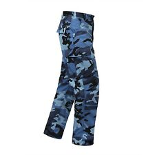 BDU PANTS MILITARY SPECS 6 POCKETS CARGO ALL COLORS ALL SIZES XS to 4XL