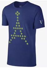 Roger Federer Nike Shirt 2016 Emoji French Open M NEW Tennis Nadal