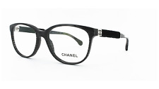Brand New Chanel Eyewear CH 3267 c.1443 Authentic Frame Rx Glasses Black & Case