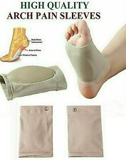 Arch Support Gel Orthotic Insole Plantar Fasciitis Foot Sleeve Cushion Support