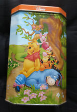 COLLECTORS SERIES 8/12  METAL TIN CAN - WINNIE THE POOH AND FRIENDS - DISNEY