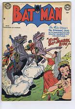 Batman #56 Simcoe 1950 CANADIAN EDITION