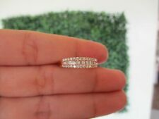 .50 CTW Diamond Half Eternity Ring 18k Rose Gold JS31R sep