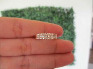 .50 CTW Diamond Half Eternity Ring 18k Rose Gold JS31R sep