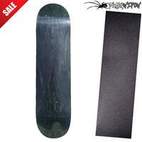 Pro Blank Skateboard Deck SIZE 8.0 BLACK Stained / optional griptape ON SALE!
