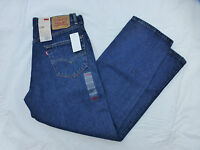 NWT MENS LEVIS 550 RELAXED FIT TAPERED LEG JEANS $58 00550-4886 DARK BLUE