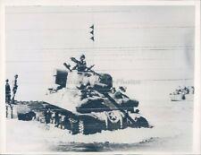 1943 WW2 Landing Craft US Tank Beach Sicily Invasion Ground Forces Army