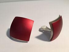 New - Pendientes EarRings SEDISTRI - Rojo - Red - Aluminium - Aluminio