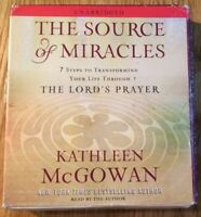 The Source Of Miracles Kathleen McGowan (2009) Audio Book 5x CDs Unabridged