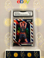 2018-19 Panini Prizm Kevin Huerter 68 Rookie Red White Blue 10 GEM MT GMA Graded