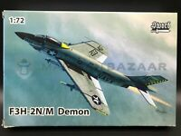 Sword 1/72 SW72123 McDonnell F3H-2N/M Demon (Ships from Canada!)