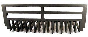 ANTIQUE ART DECO CAST IRON SUPERIOR WHALE BONE FIRE PLACE GRATE FOR SURROUND