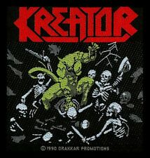 Pleasure To Kill  Kreator Aufnäher  (SP334)Kreator Patch  Gewebt & Lizenziert !!