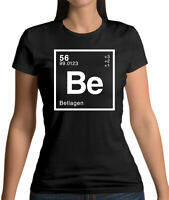 Element Name BELLA - Womens T-Shirt - - Science - Surname - Personalised - Gift