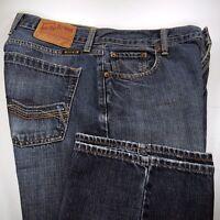 Lucky Brand Mens Blue Jeans Pocket Stitch Detail Design Denim Pants size 31x33