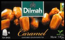 Dilmah Tee-Caramel flavoured black Ceylon Tea 20 bustina del tè