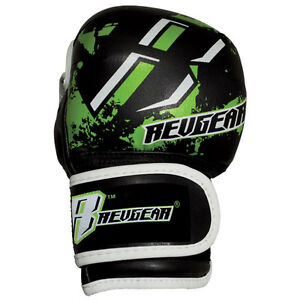 Revgear Youth Deluxe MMA Gloves - Green