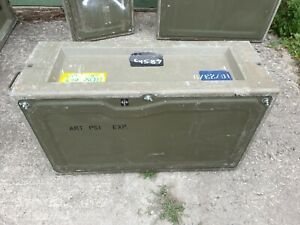 Issued / Used British Army Laycorn Storage Boxes