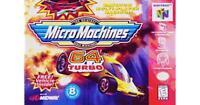 Nintendo N64 Micro Machines 64 Turbo - Used
