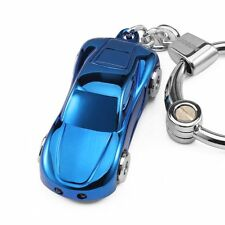 JOBON Zinc Alloy Metal LED Light Car Keychain Multifunctio Key Ring for Men Gift