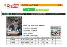 Rapture Archer Light trout spinning rod hi quality regular action 8g 2.0m sale