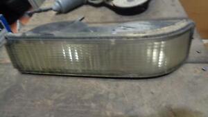 1988-00 GMC 2500 RIGHT PARKING LAMP, CLEAR LENS TYPE,SEALEDBEAM TYPE HEADLAMP