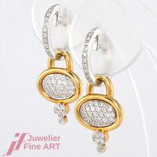 AL CORO Ohrhänger 18K Weiß- & Roségold Diamanten 0,63 ct - NEU UVP 4.090,-€
