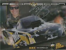 2014 Tony Pedregon signed Wix Filters Toyota Camry Funny Car NHRA postcard