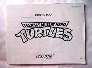 61147 Instruction Booklet - Teenage Mutant Hero Turtles - Nintendo NES (1990) NE