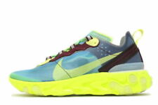 NIKE React Element 87 Undercover Lakeside sz US8 ELECTRIC YELLOW BQ2718-400