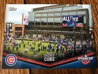 Chicago Cubs 2018 Topps Opening Day Opening Day at the Ballpark Insert