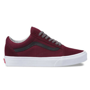 "Vans ""Jersey Lace Old Skool"" Sneakers (Port Royale/Black) Classic Skate Shoes"