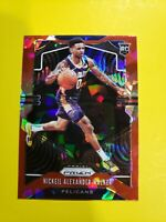 Nickeil Alexander - Walker 2019-2020 Panini Prizm Red Ice Basketball TRUE RC SP