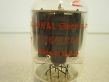 National Electronics Electron Beam Power Tube 6JT6/6JT6A, (9) Prong