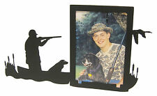 "Duck Goose Hunting in Boat Picture Frame 3.5""x5"" - 3""x5"" V Hunt Hunter"