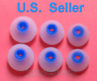 6 APPLE S/M/L Blue-White Replacement Earbuds In-ear Earphones (MA850G/A/B)