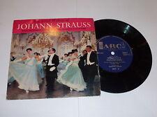 "JOHANN STRAUSS - Best loved Waltzes - 4-track UK 7"" ARC Label vinyl single"