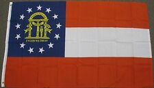 3X5 GEORGIA STATE FLAG GA NEW FLAGS USA US BANNER F236