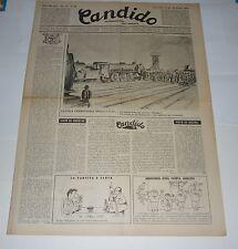 RIVISTA CANDIDO settimanale del sabato GUARESCHI -- anno 3 n 43 (1947)