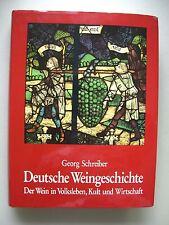 Deutsche Weingeschichte Wein in Volksleben Kult Wirtschaft 1980