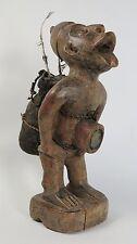 More details for african tribal art bakongo / yombe nkisi nkondi fetish figure