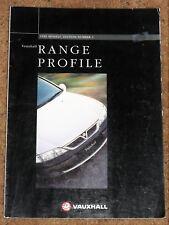 1996 VAUXHALL RANGE Sales Brochure - Corsa Astra Vectra Calibra Omega Elite 4x4