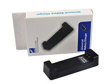 NEW UNIVERSAL EXTERNAL TRAVEL BATTERY CHARGER CRADLE CAMERA PDA DEVICES PHONES