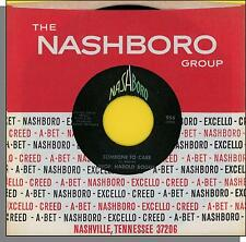 """Prof. Harold Boggs - Someone To Care + What Is This - 7"""" 45 RPM Gospel Single!"""