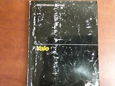 Yale Maintenance Manual ERC 025-040 AC/BE