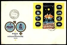 Mayfairstamps HUNGARY 1976 VIKING 1 SOUVENIR SHEET FIRST DAY COVER wwe12509