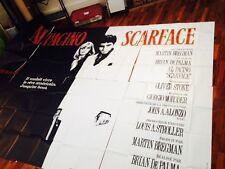 Affiche SCARFACE (4mètres par 3 mètres) Al Pacino Brian de Palma Oliver Stone