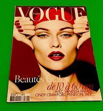 Vogue Paris Magazine November 2008
