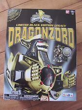 Power Rangers Legacy DRAGONZORD Black & Gold Limited Edition TRU Exclusive NEW